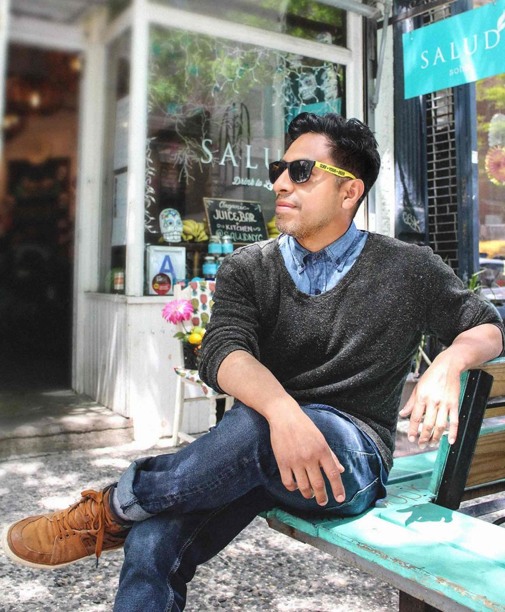 "EDDIE LARIOS | Culinary Partner   Eddie will be in his ancestral homeland of Mexico. This is what his two cafe's in New York City are styled after, ""Mexican take on Health Foods and Juices!"" It will be more authentic than any Mexican restaurant in town, and healthier too!"