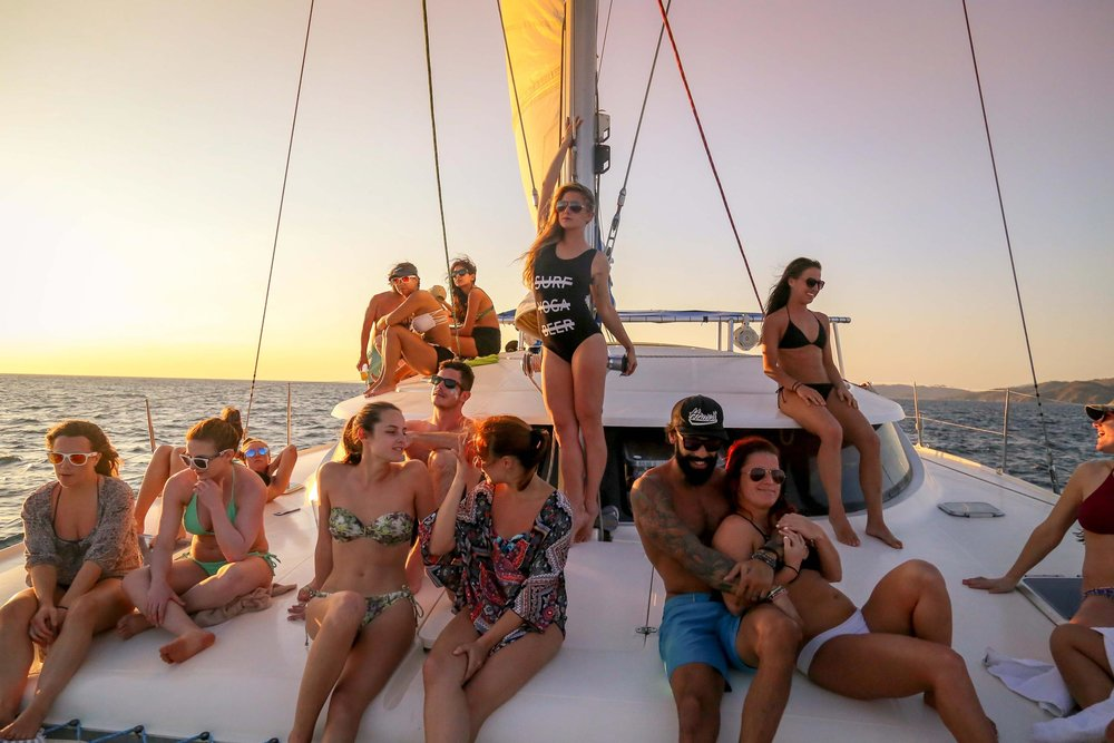 SYB always makes Catamaran cruises epic...