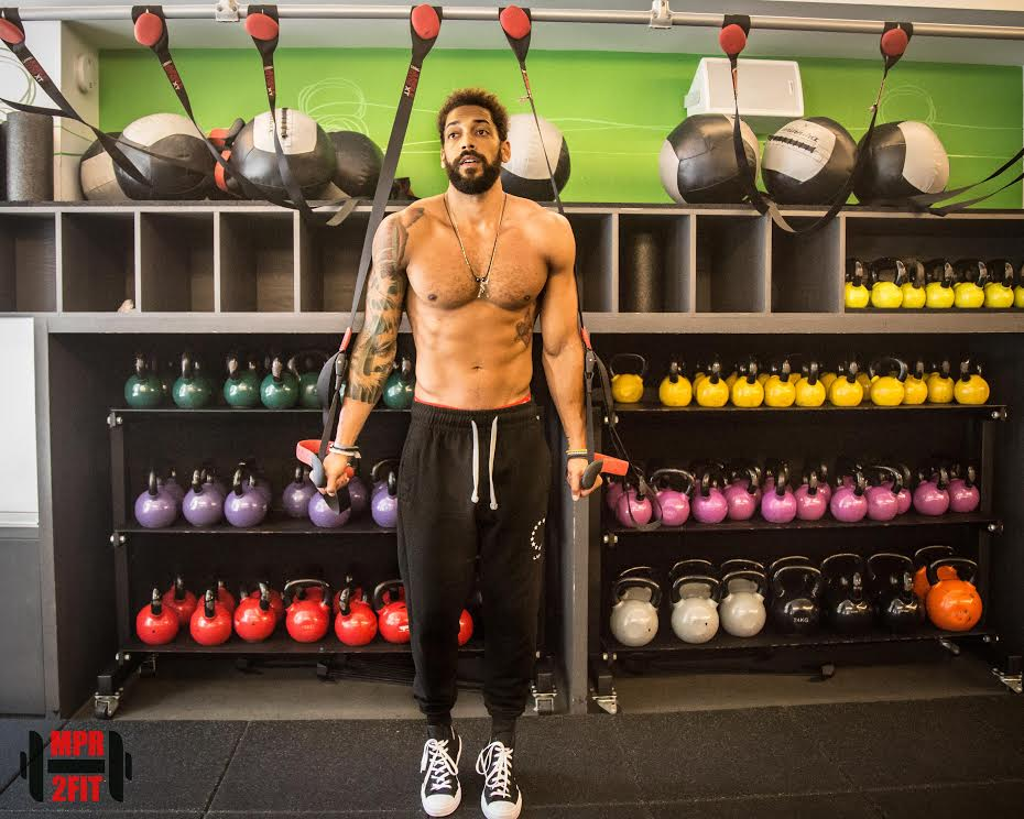 MARK RIBEIRO | Fitness Master Mark is a former professional Volleyball player, who even trained with the USA Men's National Volleyball Team. Let's find out who has a higher vertical jumping over waves! He teaches at the Fhitting Room in New York City, where his classes are all about cracking jokes and getting results without even realizing it, sounds pretty SYB to us!