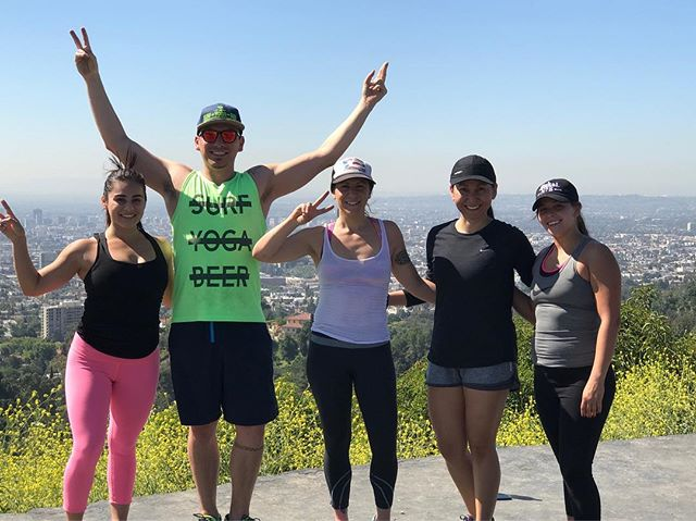 Join us Saturday April 29th for our monthly Trail Run up Griffith Park and mini bootcamp at the top with SYB LA!  Meet us at The Morrison on Los Feliz at 9:45 am. We'll be running by 10 am. DM any questions!@surfyogabeer #fitness #trailrunning #running #la #california #getfit #toneitup #cardio #fitfam #fitnessaddict #getoutside #cashmeoutsidehowboutdat #justdoit #noexcuses