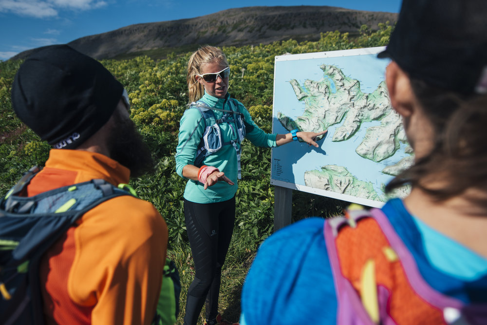 INGA FANNY |Run expert of Iceland who will be leading through an unseen exotic place.