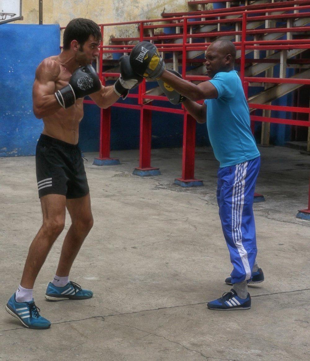 Boxing at Rafael Trejo Boxing Gym |© Lynn Cianfarani