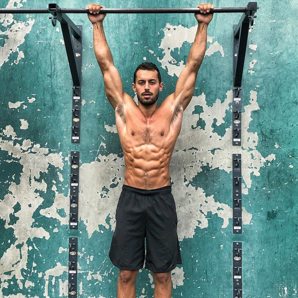 ADAM FRATER|  Miami Fitness Teacher  Miami is his second home, he's the main attraction at muscle beach, and he'll intro us to this whole world!