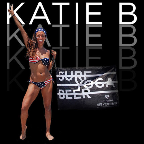 KATIE B | Yoga Guru   Combine her BA in International Conflict Resolution (she can teach you yoga in 普通话 ), with over 5000 live hours of Master Yoga and Personal training, get ready for a work out and most importantly get a WORK IN. From  losing her mom at 14 to breast cancer  to overcoming her facial paralysis with Bells Palsy, she takes inner transformation seriously. In the spirit of beautiful balance, she also takes dance parties and tequila seriously.