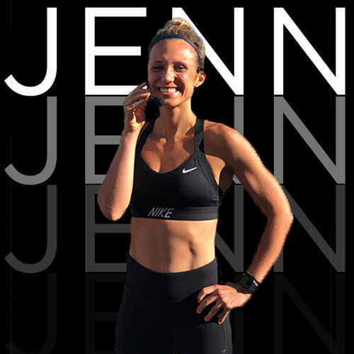 Jenn Amoroso | Run Coach + Leader   She's the ultimate run leader, triathele and person who never stops smiling, you'll see when you meet her. She's the SYB NYC Run Club coordinator and has been SYB 2015 from guest to leader!