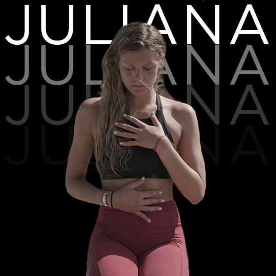 JULIANA TORDELLA | Yoga Instructor  WEEK 2  It all started on SYB Ibiza 2018, then crushed through the SYB Academy Yoga Teacher Training, is coming back full circle to share the life-changing moments everyone will experience on this island with her! BTW she will also teach a beer 'shotgunning' workshop.