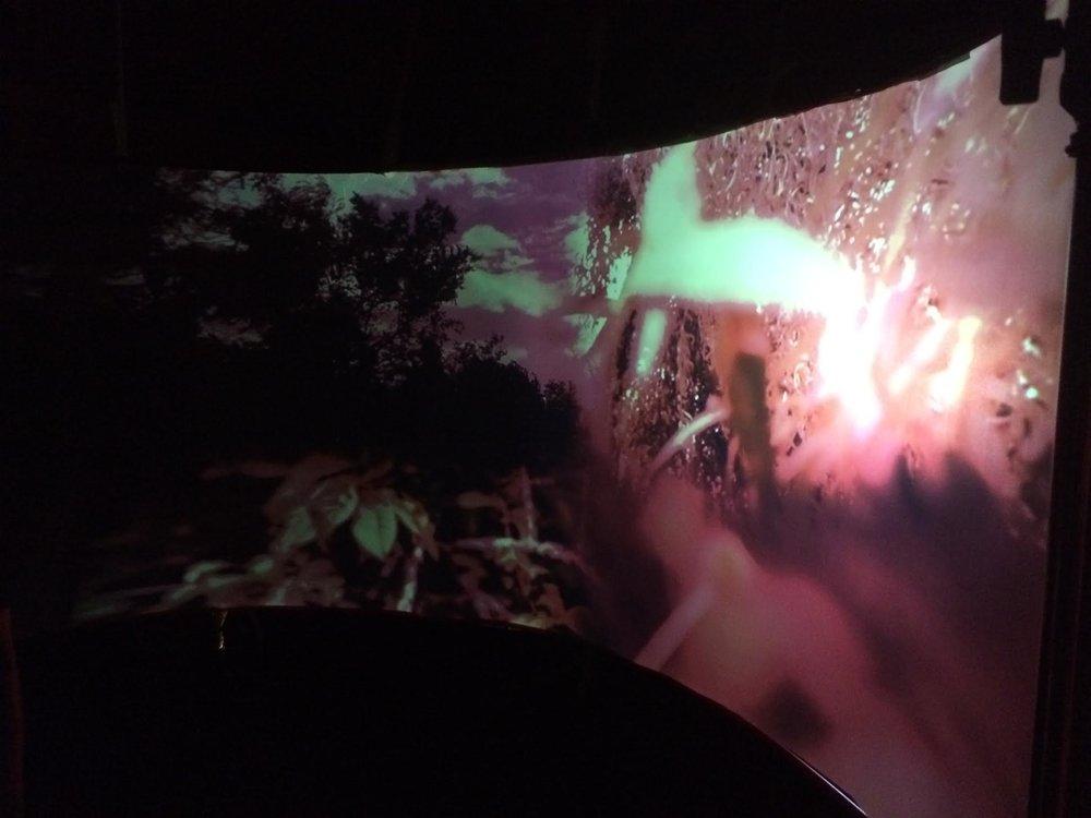 Cinerama Installation