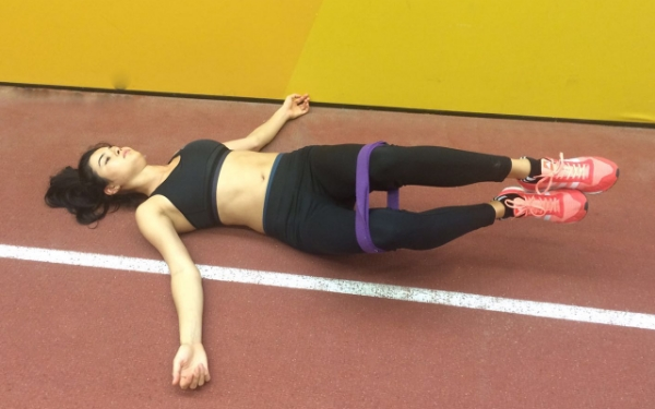Hip Roll Mobility with Yoga Strap (45-degrees)