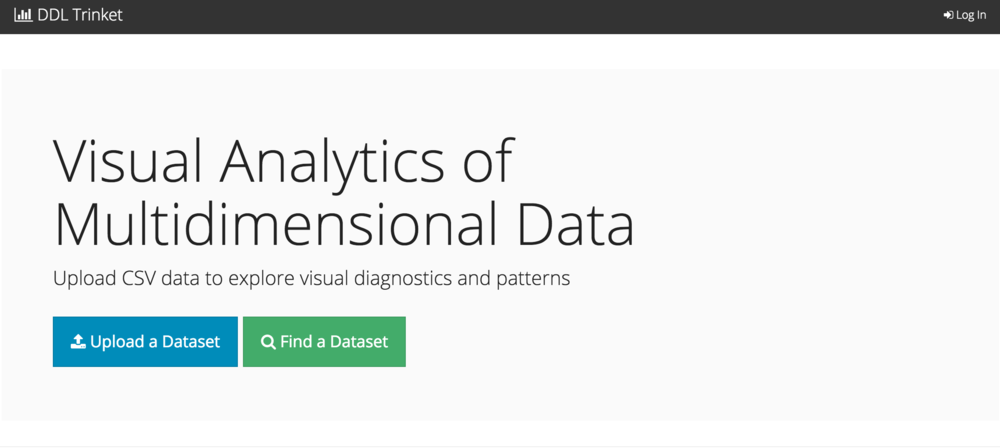 Cultivar: Multidimensional data explorer and visualization tool.