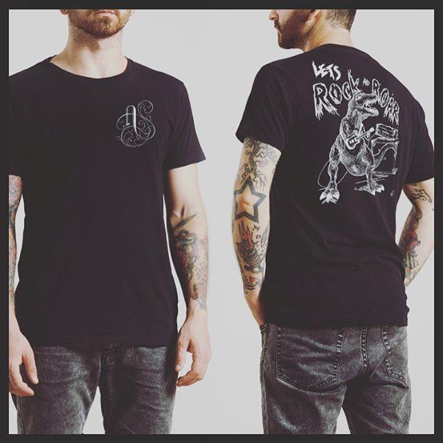 New Andóra shirts coming soon. Super Dino-mite.