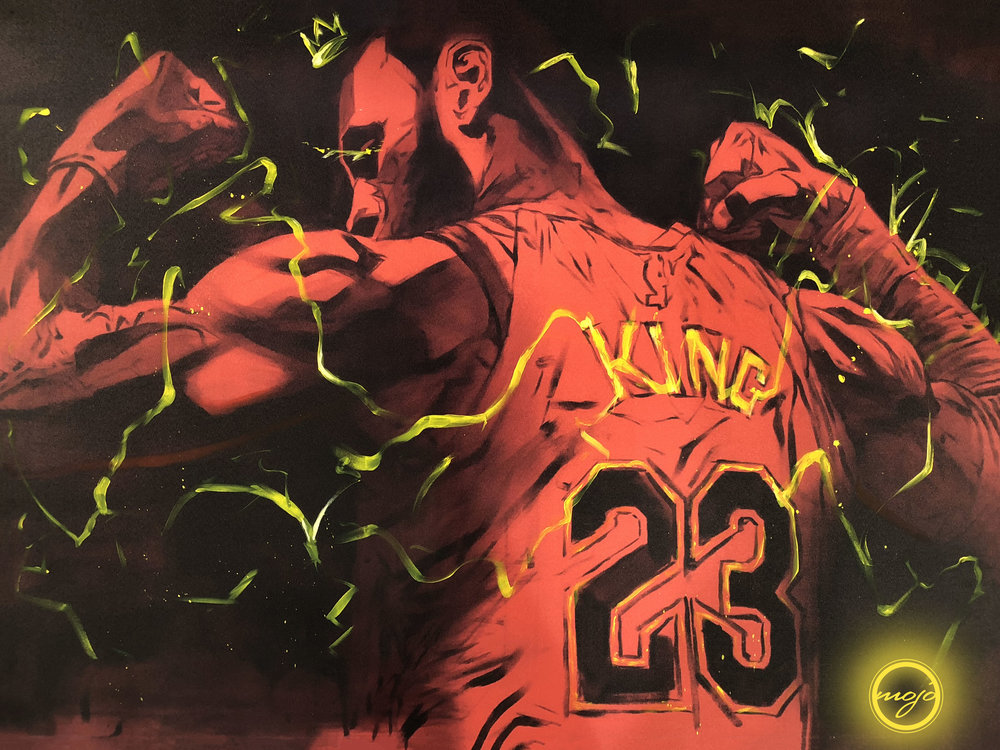 Limited Edition King James Print