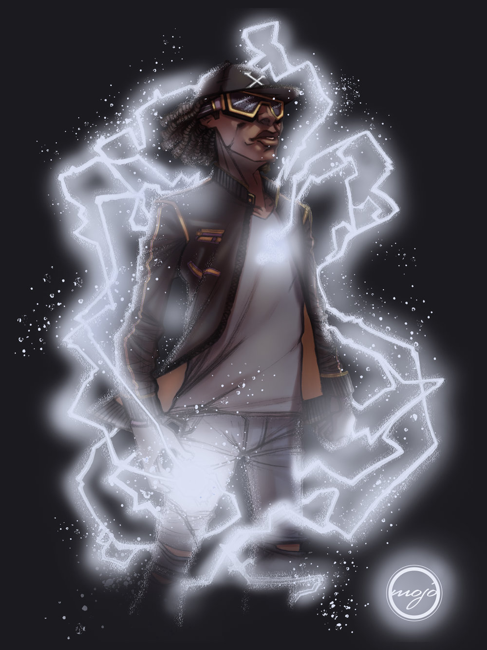 STATIC SHOCK FAN FILM DESIGN