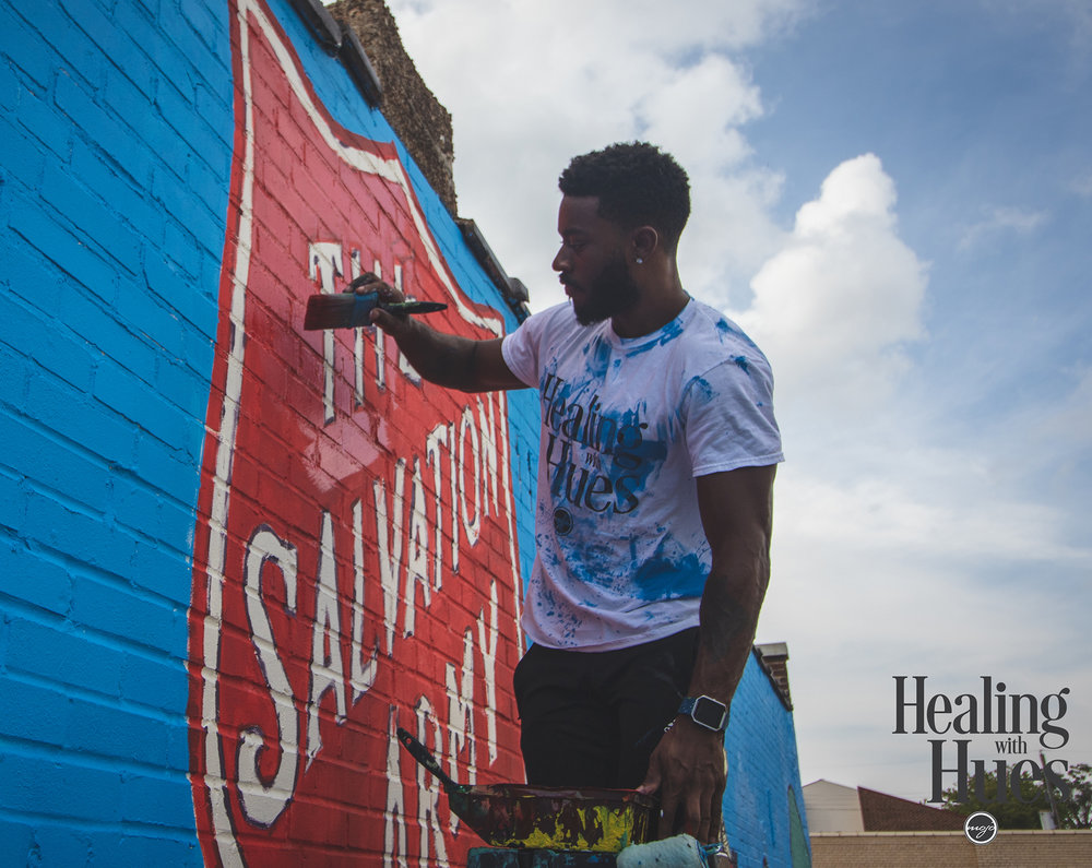 Salvation Army Mural in St. Louis
