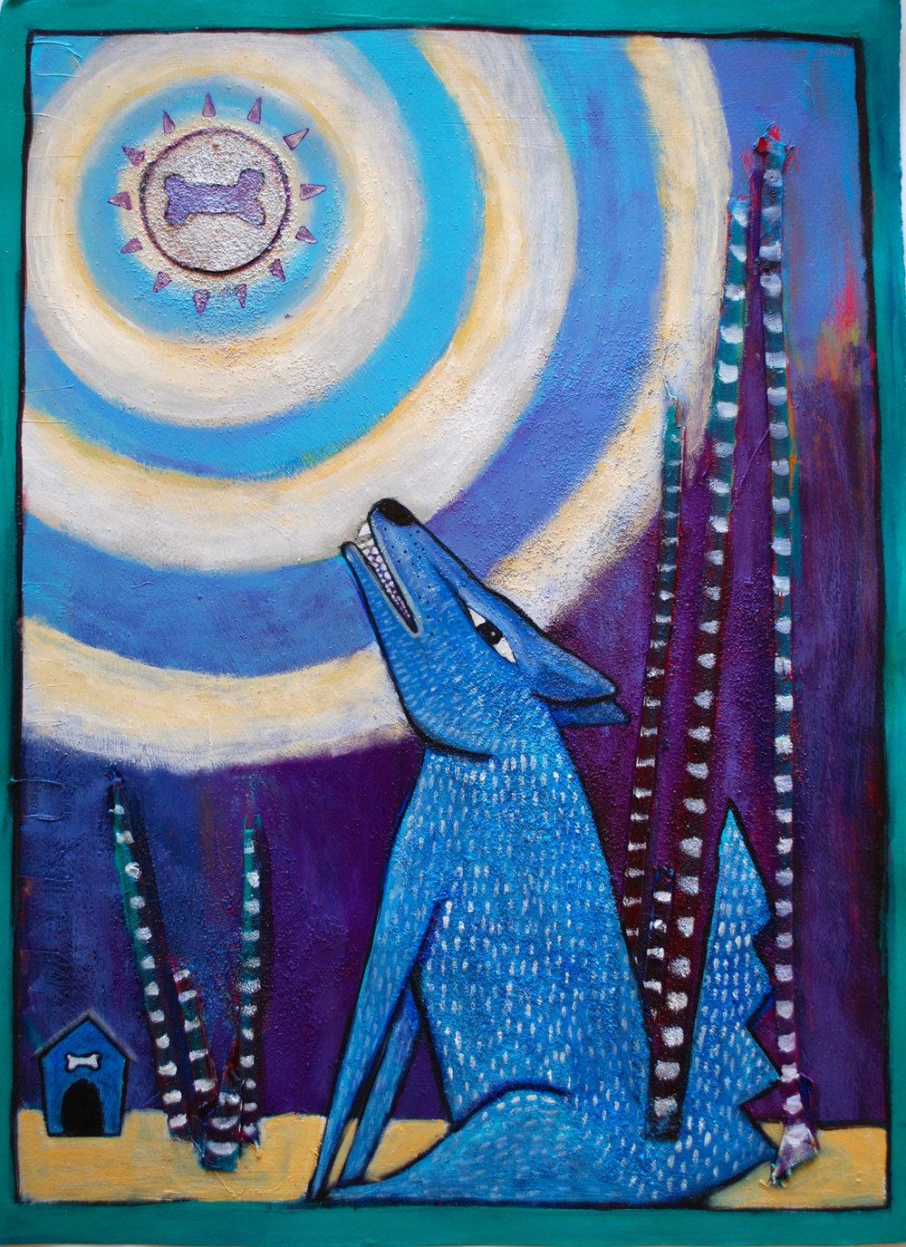 Blue Howler