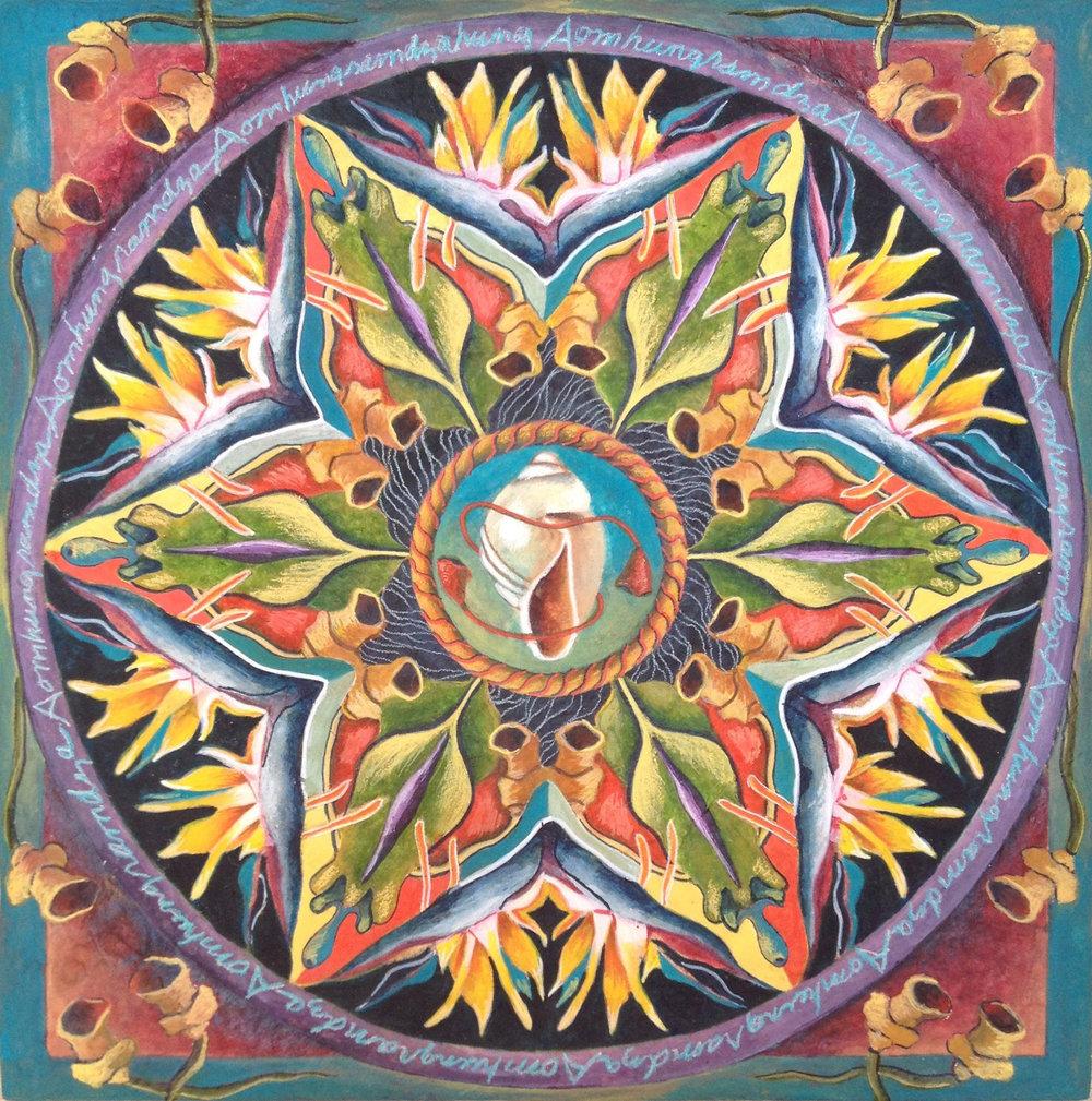Shell Mandala
