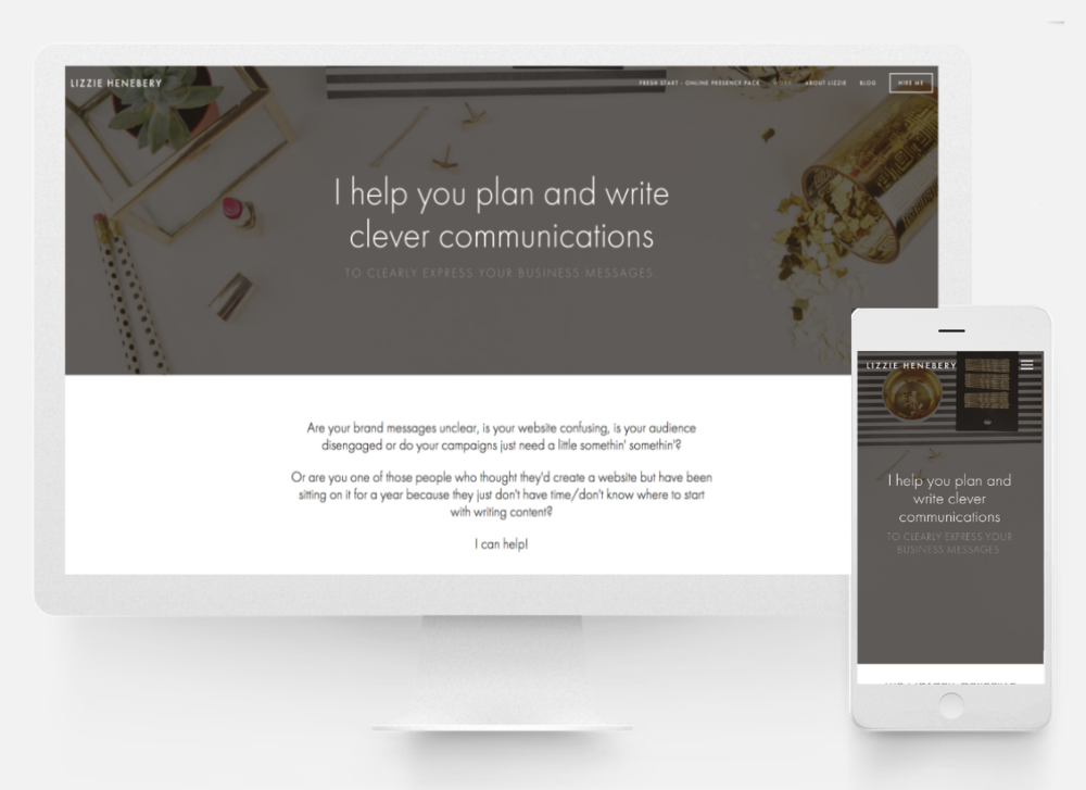 Squarespace Website +