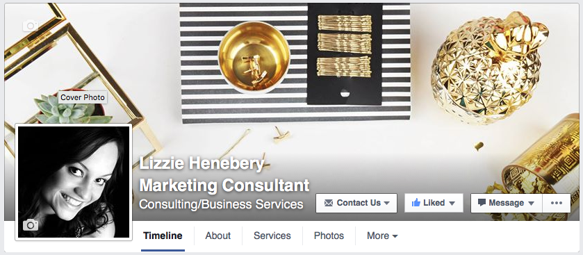 Facebook Business Page     +