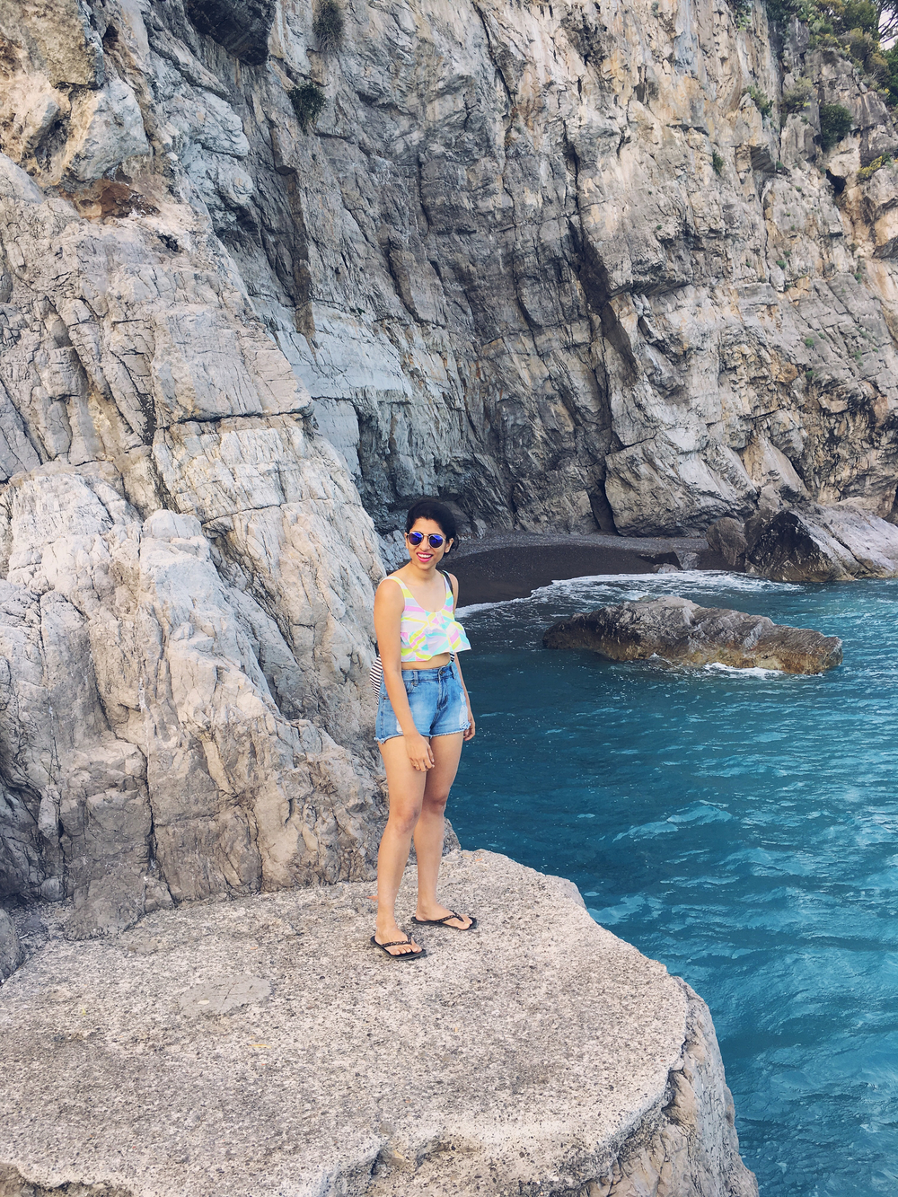 So happy i found my own private beach