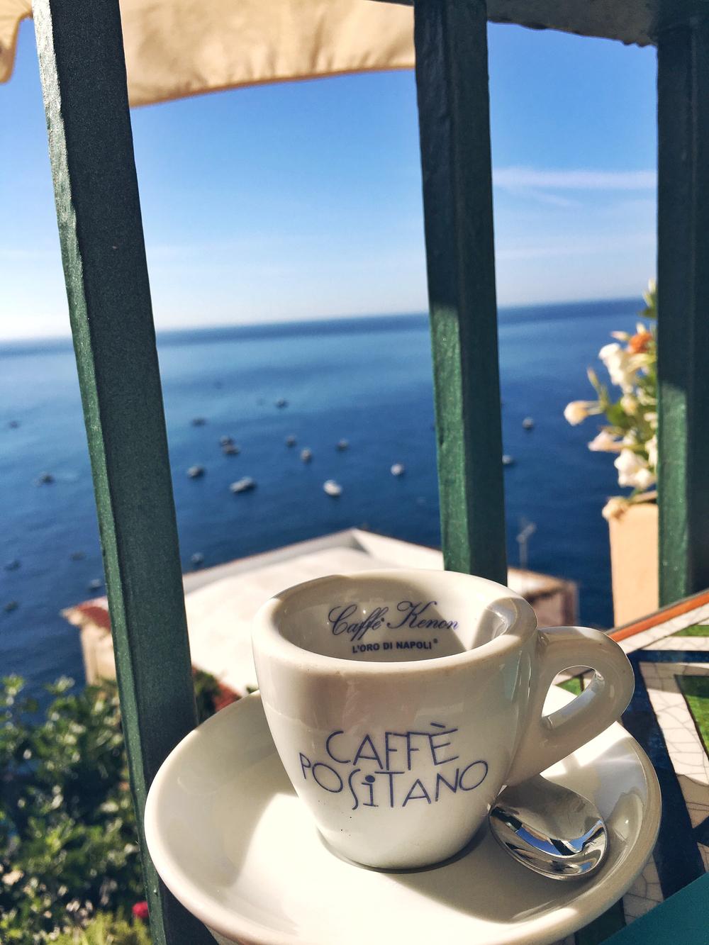 Traditional Italian Coffee - Cafe Positano
