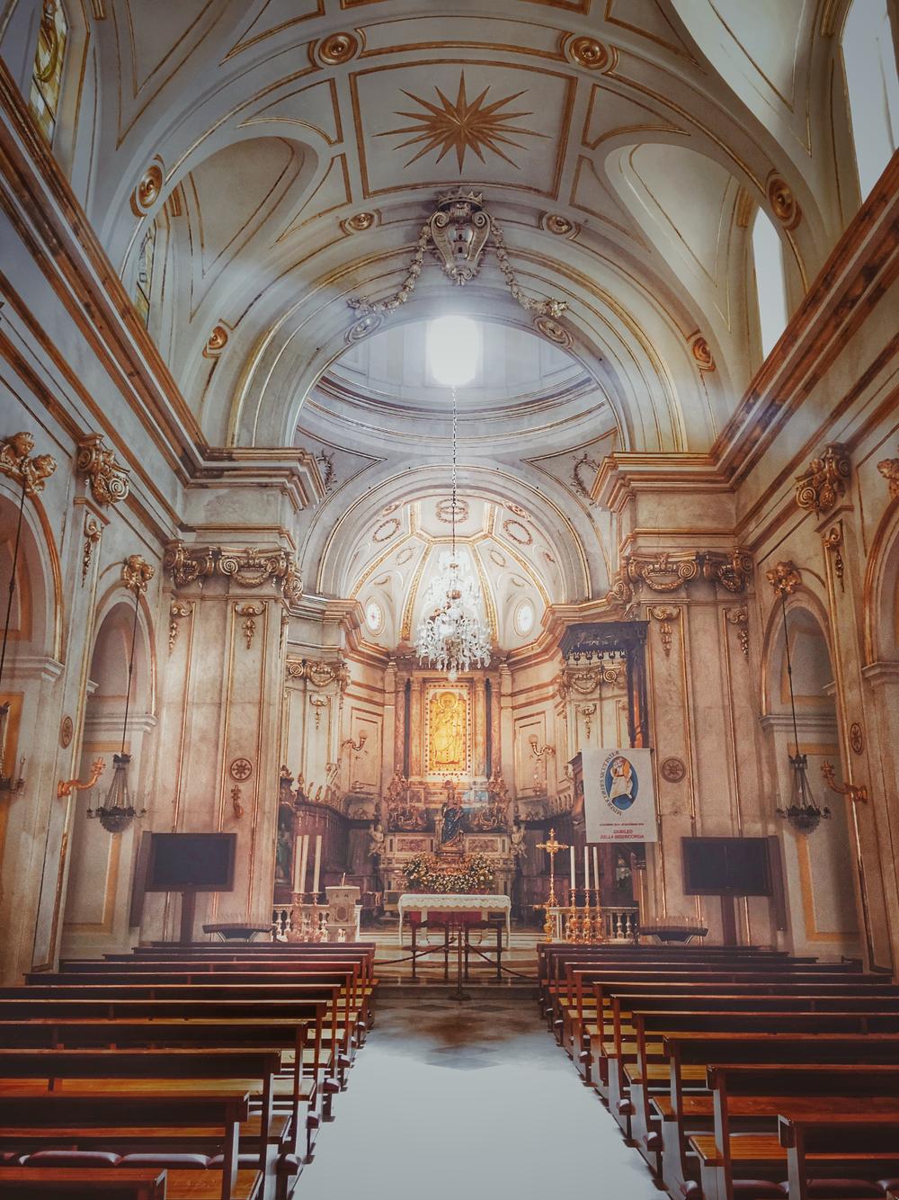 Inside Sant Maria Assunta