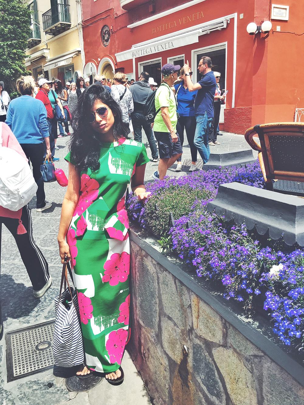 Shopping in capri town
