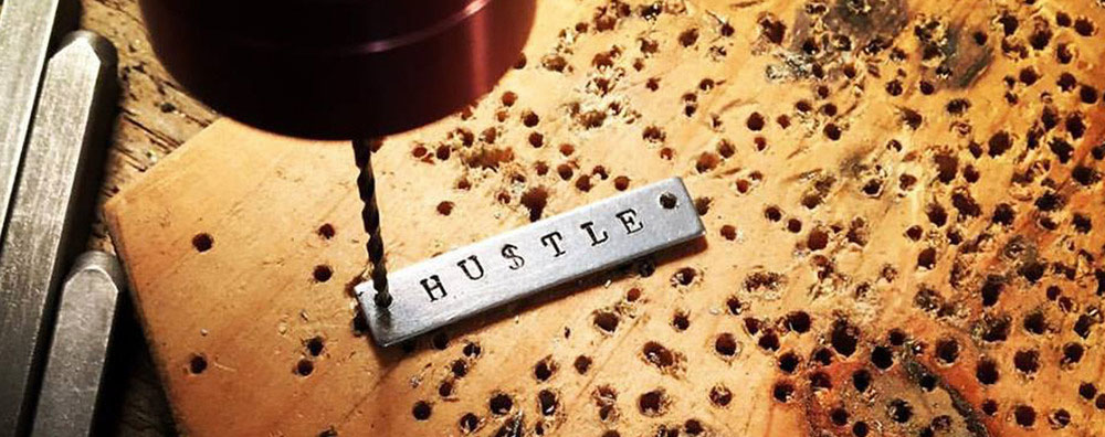 Nothing wrong with a little hustle. We're busting ass to always bring fresh designs and artists to Tooth & Nail.