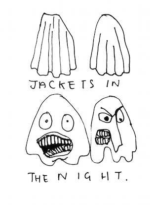 jackets in the night