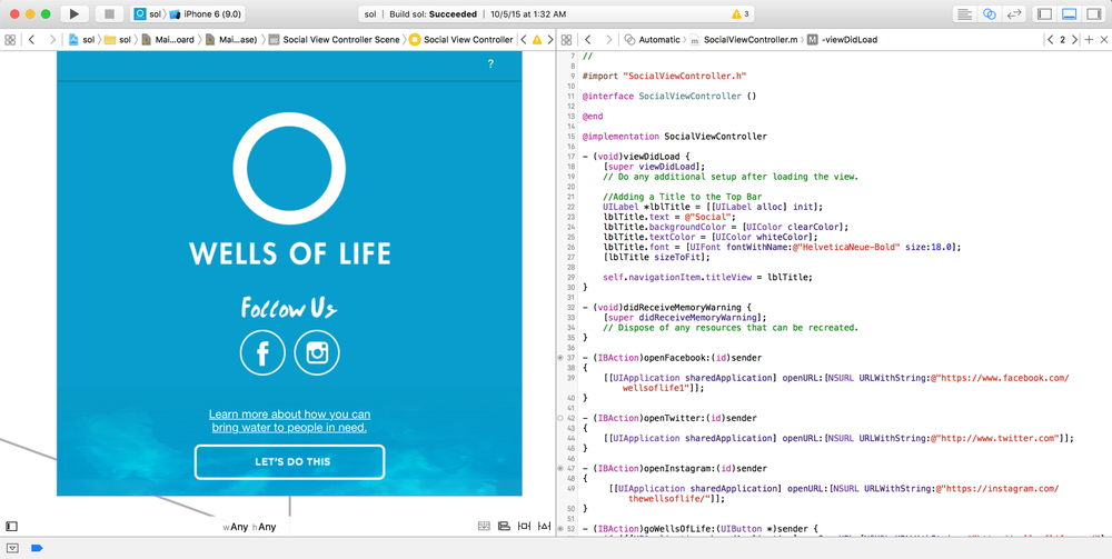 So what does it look like using Xcode to build the iOS version of our storybook app?