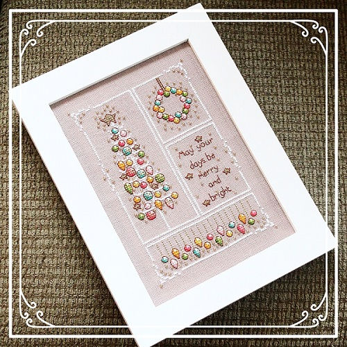 Vintage Merry and Bright designed by Shannon Wasilieff