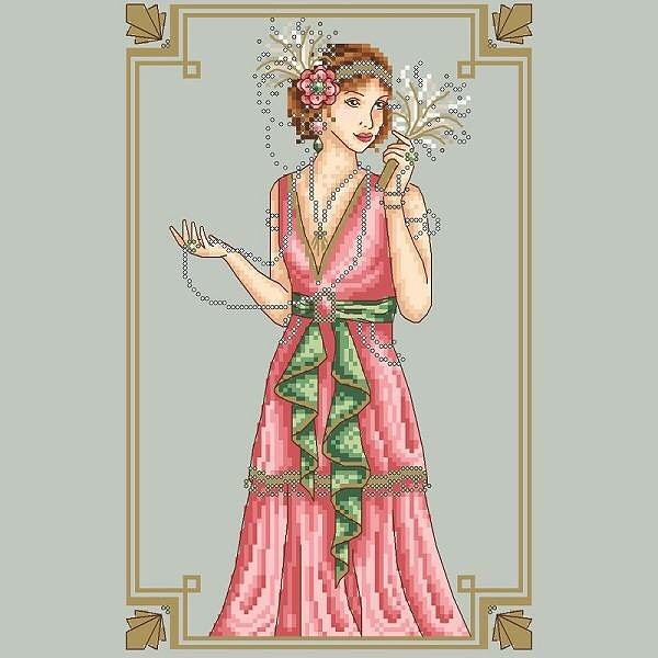Art Deco Lady has recently been added to the website. Link is in bio to access the shop! . . . #crossstitch #crossstitchpattern #crossstitching #crossstitchdesign #crossstitchchart #shannonwasilieff #shannonchristinedesigns #pointdecroix #artdeco #xstitch #xstitching #crossstitchdesigner #crossstitchpdf #needleart #needlework #crafting #craftpattern #stitchersofinstagram #dmc #kreinik