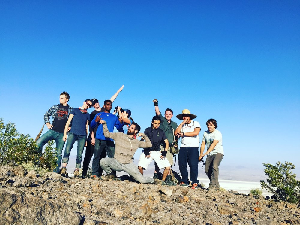 Having fun out in the desert!