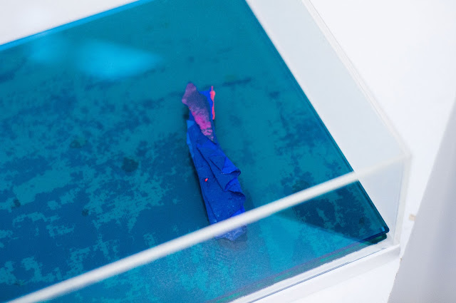 "A detail of Carla Escoffery's ""Próxima Isla""."