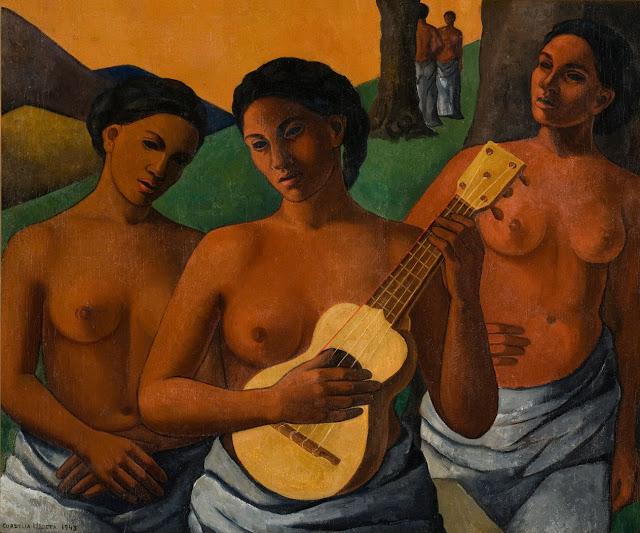 """""""Mujeres con Guitarra"""" by Cordelia Urueta"""