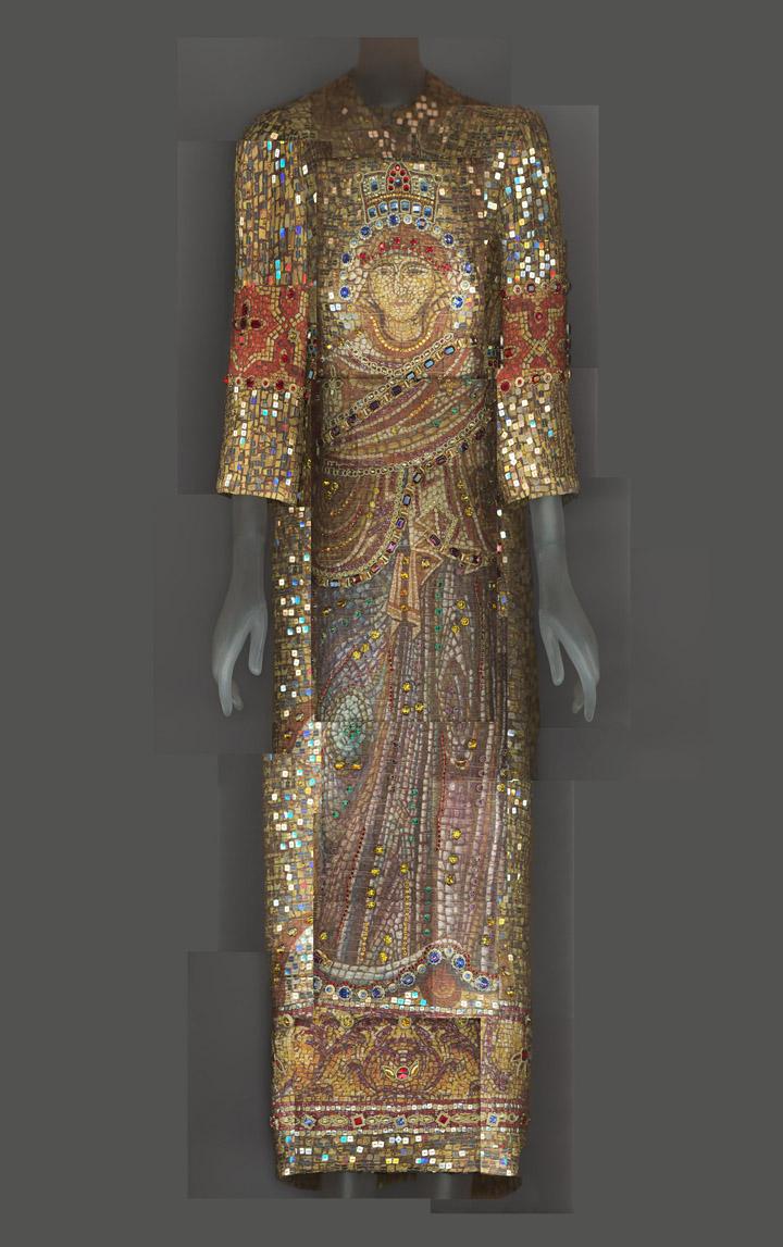 Dolce & Gabbana Fall/Winter 2013 evening dress.