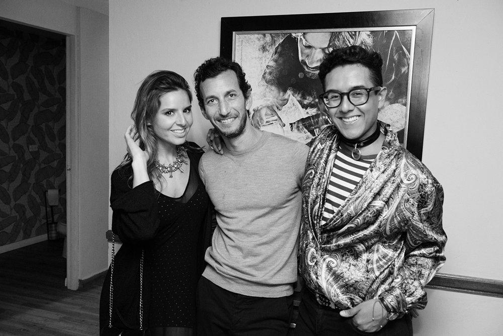 with my dears  Carolina Iglesias  and Elad Yahav from  melissa shoes