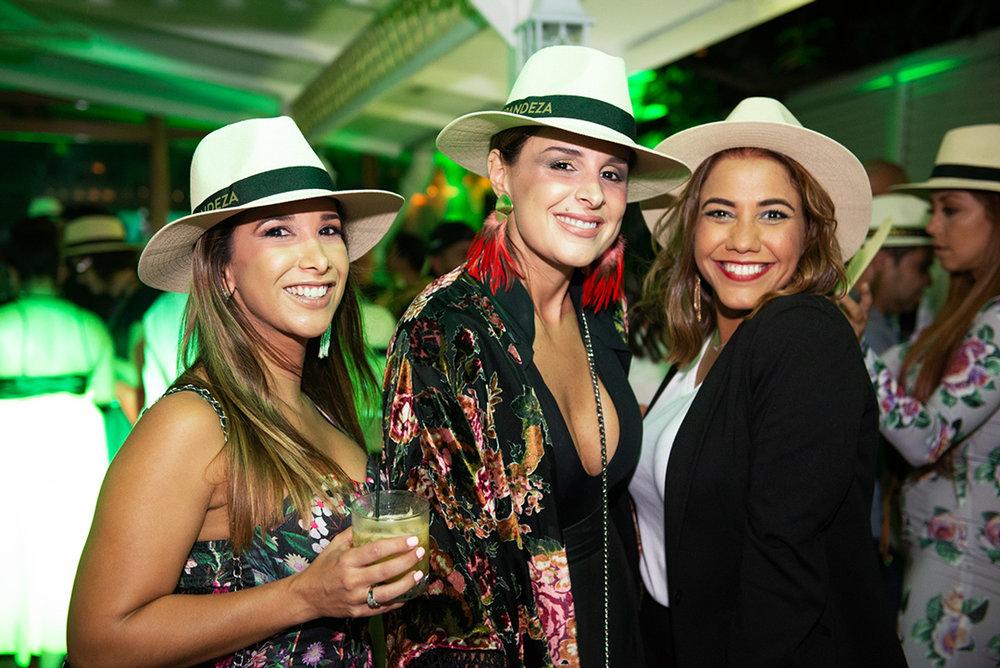 the interior design trio:  Nicole Alemán ,  Carolina Castrillón  &  Pilar Sinclair