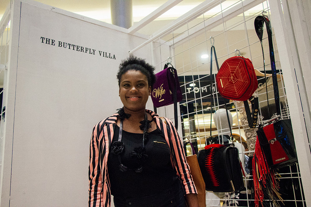 Geniesse Pierre with her accessory brand,  Butterfly Villa .