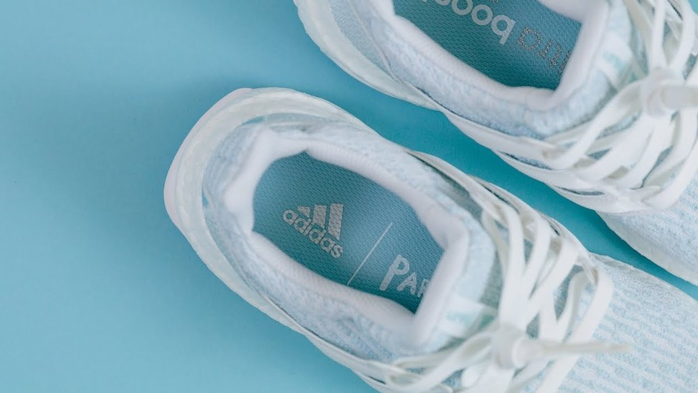 In 2015 adidas released the Parley, a sneaker made out of plastic waste that has been intercepted before it reaches the ocean