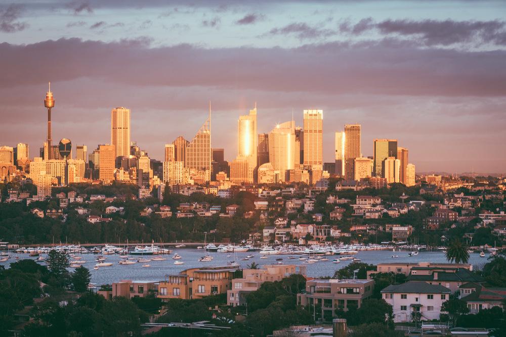 Sydney Golden Cityscape
