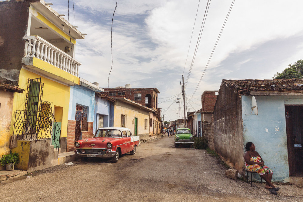 Cars, colours and Cubans in Trinidad, Sancti Spíritus province