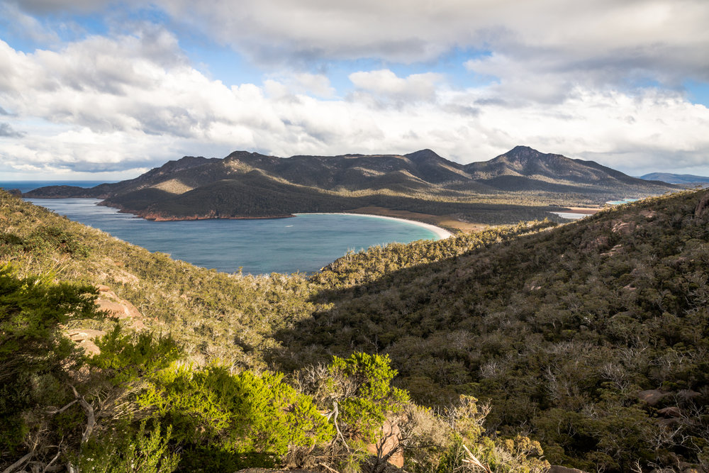 Late afternoon at the famous Wineglass Bay