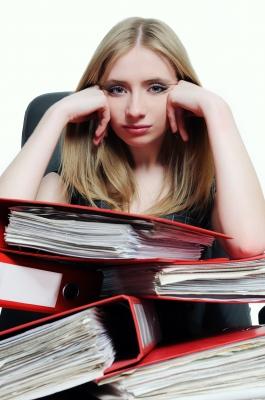 Stress Woman