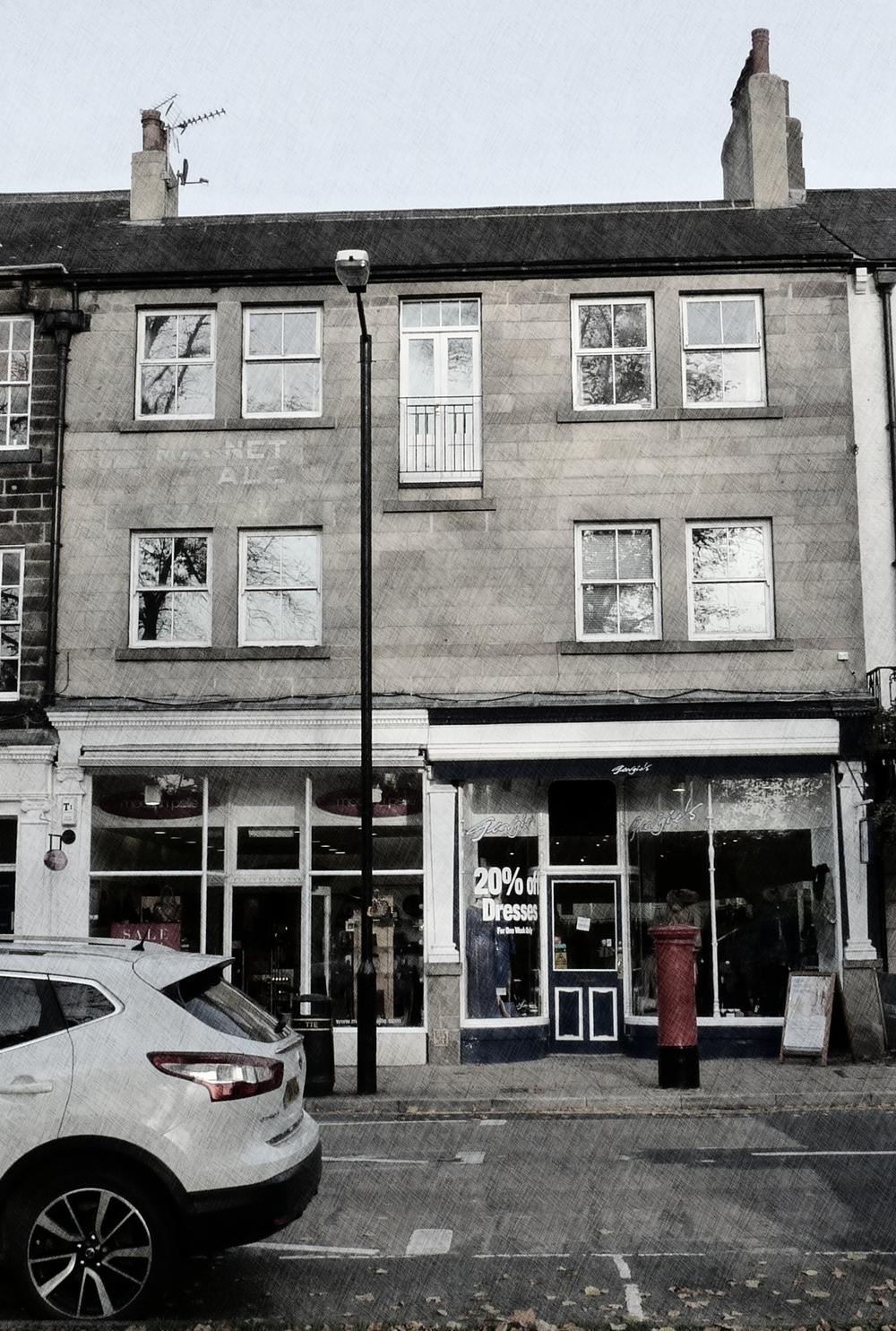 Our studios are located on West Park, Harrogate overlooking The Stray