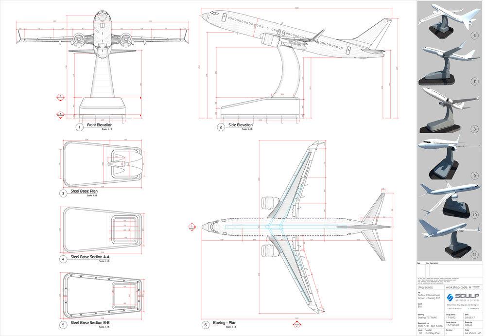 TUI Plane Drawings