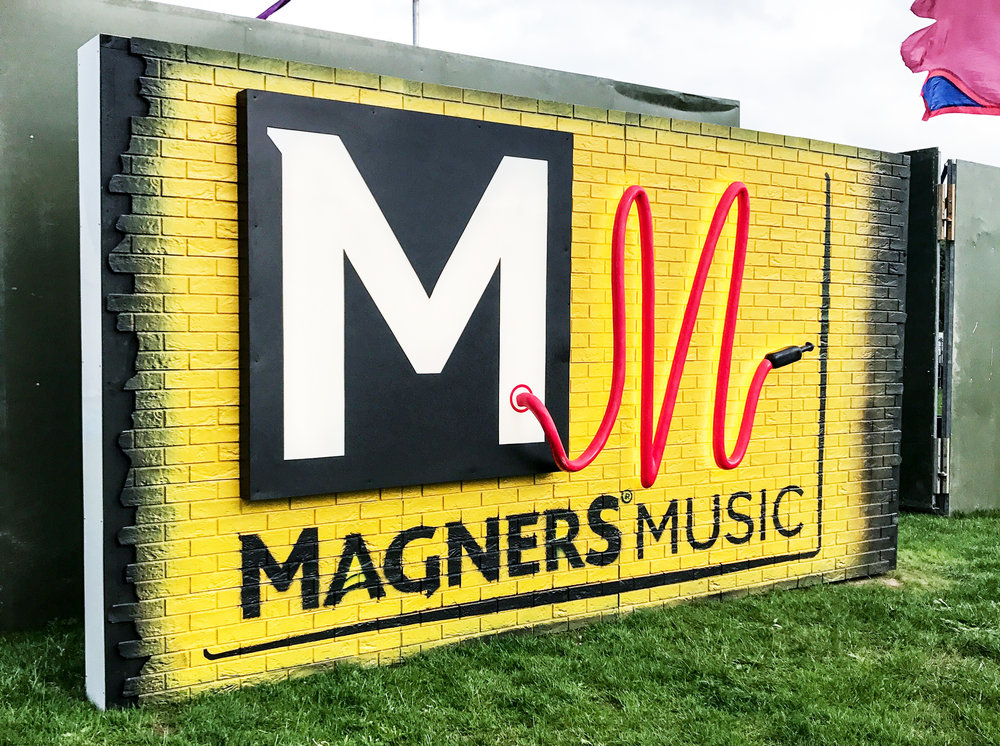 Magners Belsonic Wall