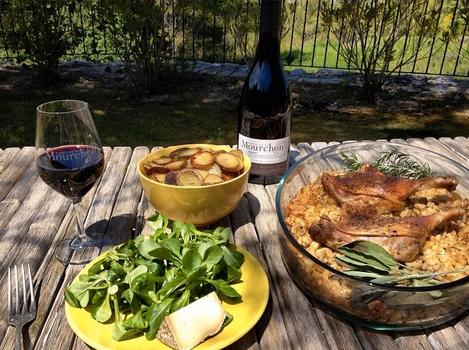 Fine food, Provence, France