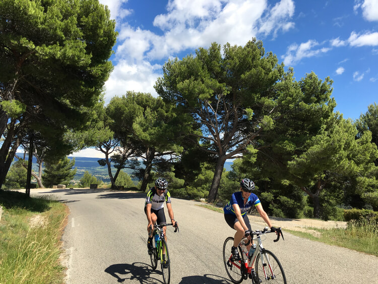 Cycling through Provence and the Mont Ventoux massif
