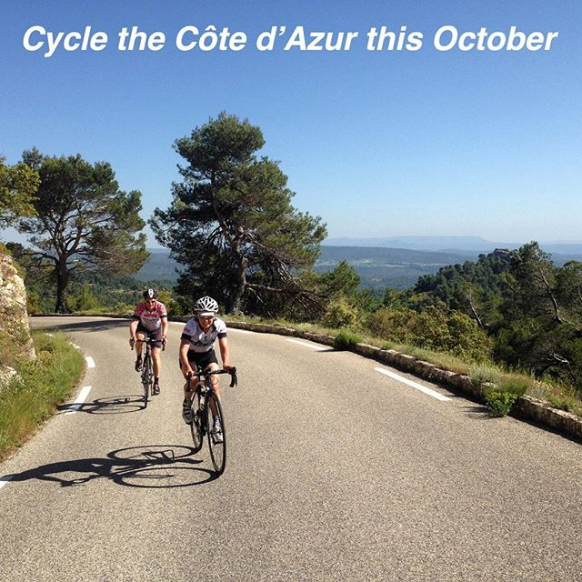Join us weekly from October 12 through November 15 as we explore this incredible region ~ link in bio #biking #cotedazur #riviera #var #nice #cannes #sttropez #sainttropez #mediterranean #bike #travel #explore #experience