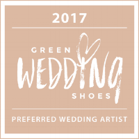 Proud to be selected as a GWS Preferred Wedding Artist