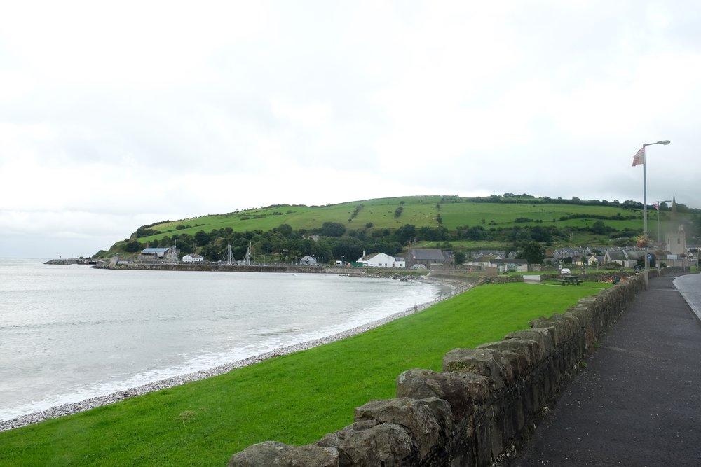 Glenarm Bay.